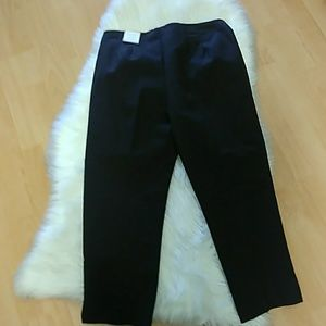 Chico's Coffee ☕ Serene Crop Pant- Size 0.5